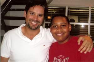 Chicago Lights Tutoring student and Marcel Media president Ben Swartz