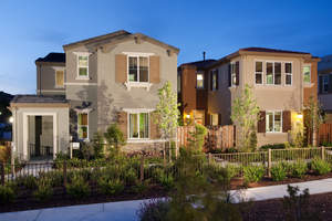 San Jose new homes, The Gardens, Detached San Jose homes