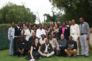 Cisco  launch of 15 community knowledge centers in South Africa. Cisco  trained managers for the centers  to make them relevant, sustainable and viable for the local communities.