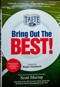 Taste of the NFL, hunger relief, kick hunger