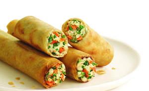 Lean Cuisine Spring Rolls