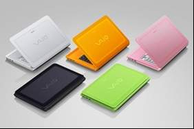 Colourful VAIO C notebook PC with 3D output and stand-out looks