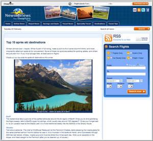 Cheapflights.com Top 10 Apres Ski Destinations