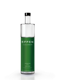 EFFEN(R) Vodka freshens up your cocktails with the introduction of EFFEN(R) Cucumber Vodka.