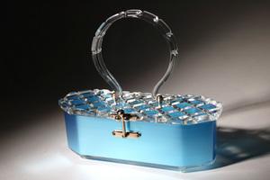 Vintage Lucite handbag, photo courtesy of Lucite