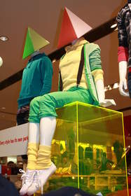 Uniqlo London store, photo courtesy of Beckie Norris