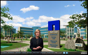 The NetApp Virtual Partner Academy received the Virtual Event Excellence Award for the best user experience.