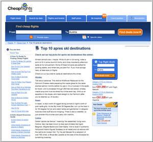 Cheapflights.ca's Top 10 Apres Ski Destinations