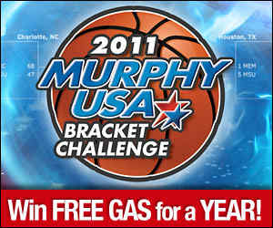 "bracket challenge, ncaa tournament ""bracket challenge"", murphy usa"