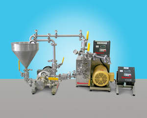Emulsions, dispersions, blends, sanitary inline mixing, colloid mixing,