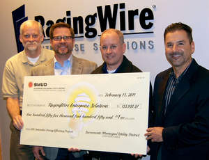 RagingWire Data Center Operations Team partnering with SMUD