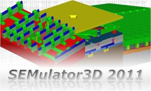 SEMulator3DR virtual fabrication software reduces time-consuming, costly build-and-test cycles for semiconductor and MEMS process development. The new 2011 release targets advanced applications by setting new standards in performance, accuracy and ease of use.