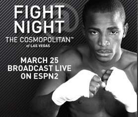 Las Vegas boxing & Las Vegas fights at The Cosmopolitan