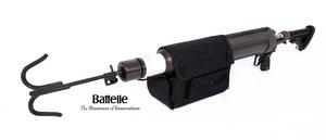 Battelle's TAIL grappling hook gun