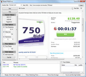Bidder Robot Interface