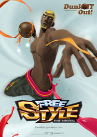 MMO basketball game FreeStyle, GameKiss
