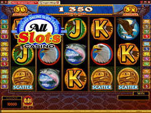 Eagle's Wings Video Slot at All Slots Casino