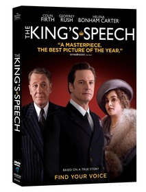 The King's Speech DVD, The King's Speech, Best Picture winner
