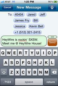HeyWire Group Messaging