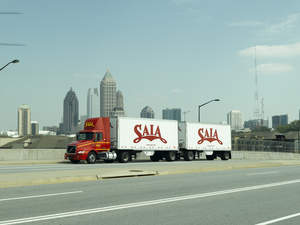 Saia, Inc. is a less-than-truckload provider of regional, interregional and guaranteed services covering 34 states. With a network of 147 terminals, the carrier employs 7,500 people.