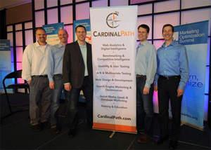David Booth, Dave Eckman, Corey Koberg, John Hossack, and Alex Langshur announce the merger of Publi