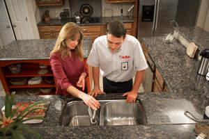 Mr. Rooter Kitchen Sink