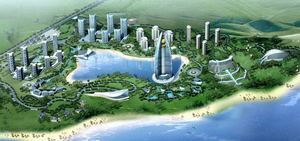 The proposed Planet Hollywood Hotel in Boao, China