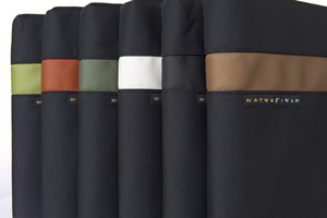 WaterField Designs iPad Travel Express Color Selection - Green, Flame, Pine, Pearl Black, Copper