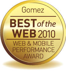 Newegg Honored with Gold Award for Second Year in a Row in the Second Annual Gomez 'Best of the Web: