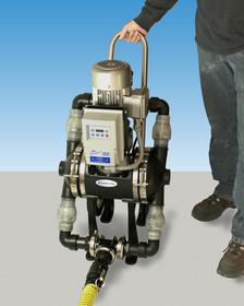 Edson Model 2500 electric powered double diaphragm plastic pump