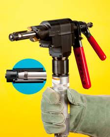 ESCO MILLHOG end prep tool features new clamping mechanism