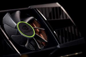 NVIDIA engineered the GTX 590 to be the world's quietest dual GPU product. It features a special cooling system and dual vapor chambers which deliver both astounding performance and acoustics. Measured with a standard decibel meter, the GTX 590 clocks in at 48dB, more than two times quieter than the closest competitive product under full graphics load.