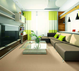 New carpet, stylish carpet, decorating with carpet, clean allergy-free carpet