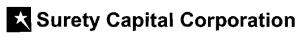 Surety Capital Corporation
