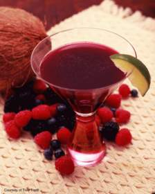 Berry Berry CocoTini