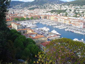 The Moorings Crewed Yacht charter base in Nice, France.