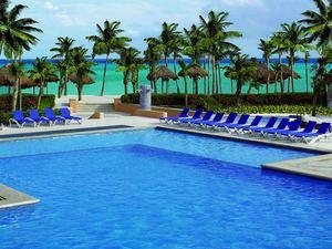 The all-inclusive Viva Wyndham Azteca in Playa del Carmen, Mexico