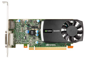 NVIDIA Quadro 400 - top of card image