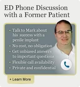 penile implant, erectile dysfunciton, penile prosthesis, patient liaison, ed, urologicalcare.com