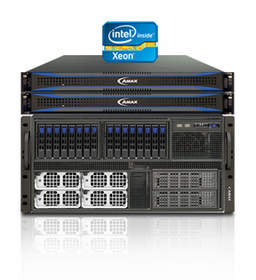 The ServMax HX-5801 5U 8-way HPC server is optimized for the Intel Xeon E7 family.