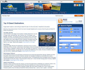 Cheapflights.com's Top 10 Desert Destinations