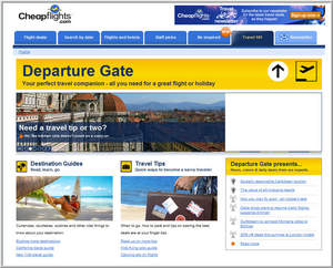 Cheapflights.com Departure Gate - expert travel advice, tips, articles and guides