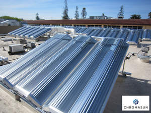 Chromasun MCT Modules at SCU Benson Hall