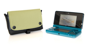 Nintendo 3DS Case in Kiwi Leather