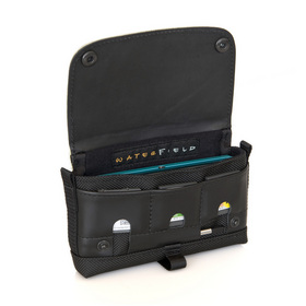 Nintendo 3DS Case in Black Leather - Under the Flap