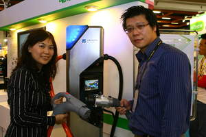 ITRI (www.itri.org.tw) has successfully developed the EV charging systems respectively complying to the standard of GB in China and CHAdeMO in Japan.