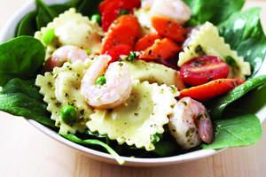 Ravioli Primavera Salad