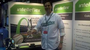 CEO, Intelleflex, Peter Mehring, Best in Show, RFID Journal LIVE!, Award,