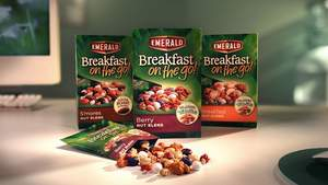 Emerald Nuts, convenient breakfast, breakfast on the go