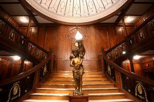 titanic, museum, exhibit